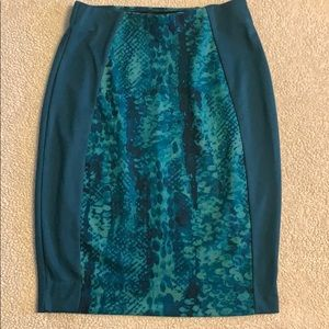 Mossino Teal Skirt